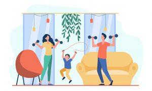 olahraga fitness di rumah